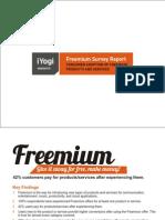 iYogi Insignts - Freemium Survey Report
