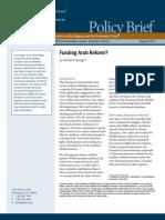 Funding Arab Reform?