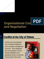 Conflict and Negotiation