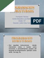 Program a Cine Structur Ada