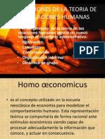 Implicaciones de La Teoria de Las Relaciones Humanas