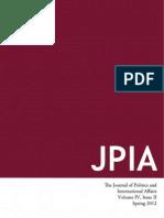 Spring 2012 Edition of JPIA
