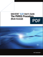 SAS_STAT 9.22 User's Guide_The PHREG Procedure