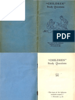 1942 CHILDREN Study Questions