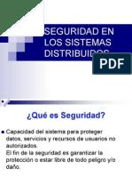 Seguridad de los sistemas distribuidos