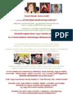 Hogyan tanuljunk tanulni? - tanfolyam 2012. 08.16-18.