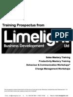Limelight Training Prospectus
