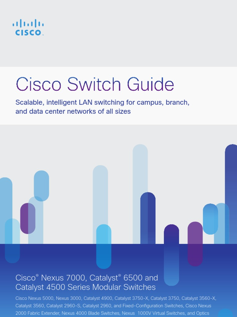 Cisco Switch Guide[1] | Network Switch | Computer Network