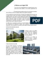 La arquitectura México en el siglo XXI
