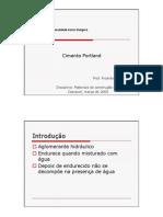 Cimento Portland - Ricardo Carrazedo - FAG