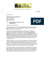 "IRS Complaint about the phony SFI ""green label"""