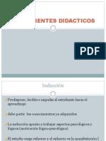 COMPONENTES DIDACTICOS