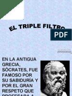 triple filtro