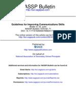 Guidelines for Improving Communication Skills