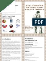Programa Definitivo Xxv Jornadas Taurinas