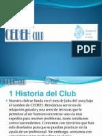 Presentación del club CEDEHH