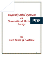 Commodity and Derivatives
