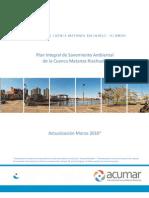 Plan Integral de Saneamiento Ambiental de La Cuenca Matanza Riachuelo Marzo 2010