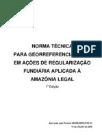 NTGARFAL Norma Tecnica Georreferenciamento AmLeg 1a Ed