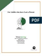 Adult Parent Loss