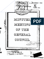 Dec 1942 - Meeting of the General Council WD