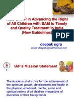 SAM Guidelines IAP Deepak Ugra 10.10.11