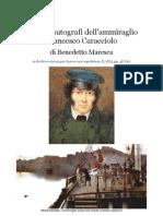 1885 MARESCA Admiral Francesco Caracciolo