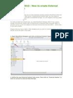 SharePoint   External Context Type