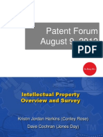 Intellectual Property Overview and Survey