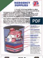Big t Supermarkets Emergency Supplies List