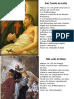 APRESENTAÇÃO SANTOS CAMPANHA DA FRATERNIDADE