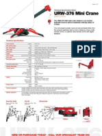 Urw 376 Mini Crane Technical