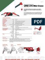 Urw 376 Mini Crane Technical
