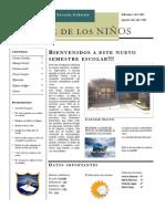 Periodico Escolar Escuela Gabriela Mistral F 536