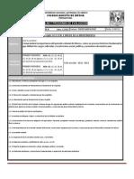 Plan y Programa de Evaluacion HIST MEX