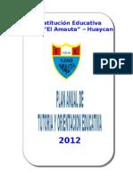 Plan Tutoria 2012 Amauta
