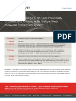 Providence College Camptures Previously Undetected Web Attacks with FireEye Web Malware Protection Solution