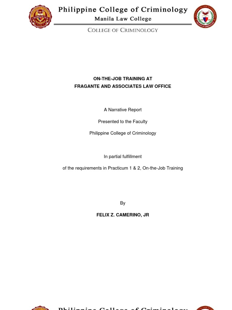 Phd thesis on criminology