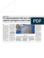 Calentamiento Global y Pesca Peru