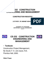 CHP1 Construction Industry