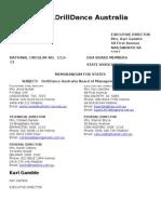 National Circular No.1 - 2012/2013