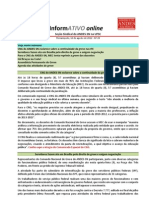 Informativo Online n° 29
