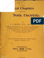 Practical Electricity Static Electricity