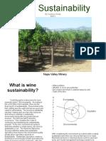Wine Sustainability