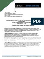 Itzhak Perlman Press Release