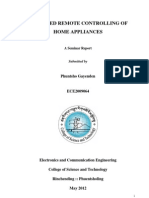 Sms Based Remote Controlling of Home Appliances