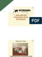 Analisis  Porcentaje de Petroleo_ANFO