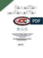 Reglamento tecnico Tc 2012
