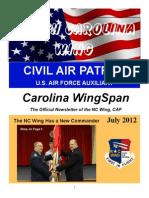 North Carolina Wing - Jul 2012