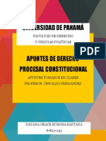 Apuntes de Derecho Procesal Constitucional - I Semestre - Prof Oswaldo F.